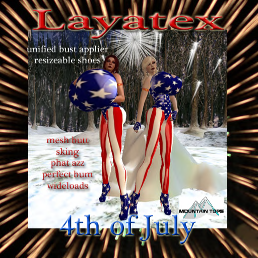 layatex 4th of july ad