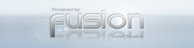 VS Fusion Logo powered