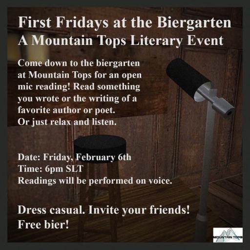 First Fridays Flyer February 512x512