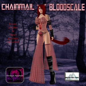 Chainmail Bloodscale advert