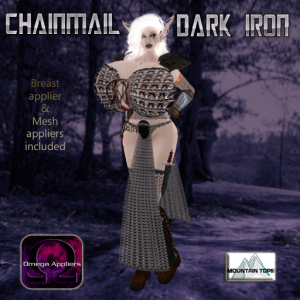Chainmail Dark Iron advert