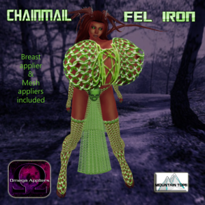 Chainmail Fel Iron advert