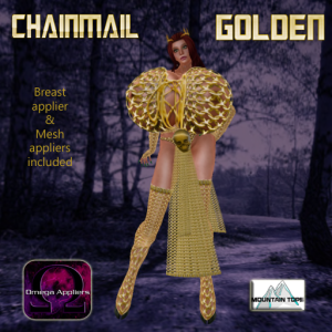 Chainmail Golden advert