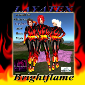 Layatex Brightflame advert