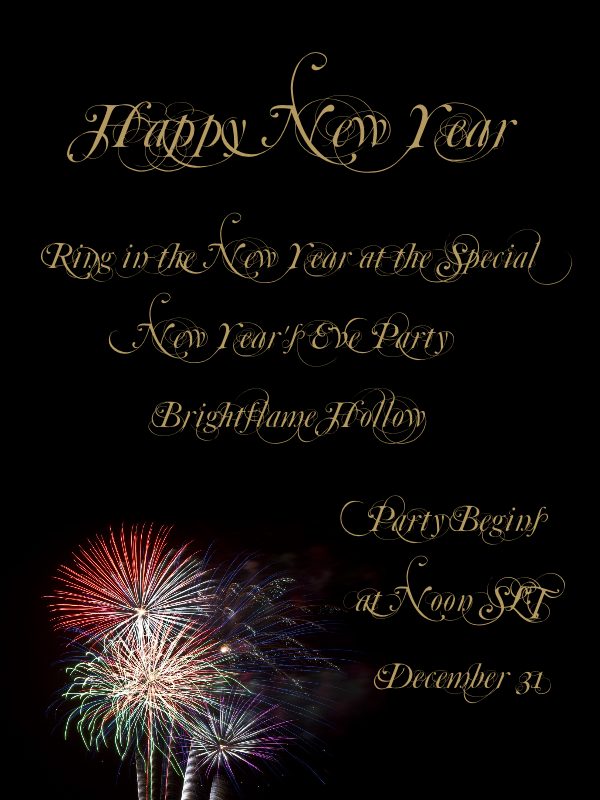 New year s eve party the mountain tops blog - New years eve party at home ...