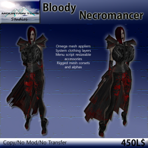 Bloody Necromancer advert