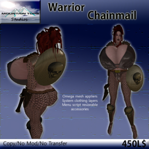 Warrior Chainmail advert