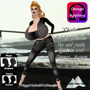 chelle outfit advert